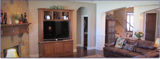 interior trim, remodeling services, custom homes