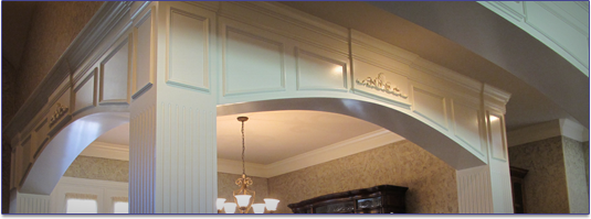 RC construction and interior trim, custom home builder, Dallas, Fort Worth